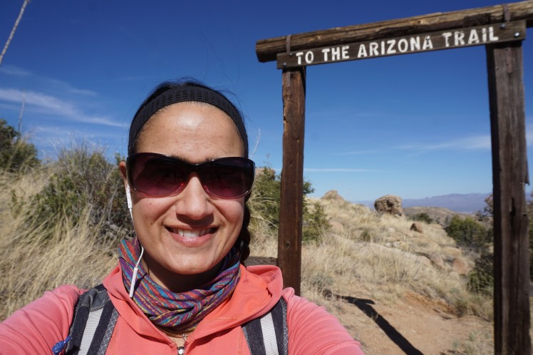 To the Arizona Trail - Writer Sirena Rana Dufault