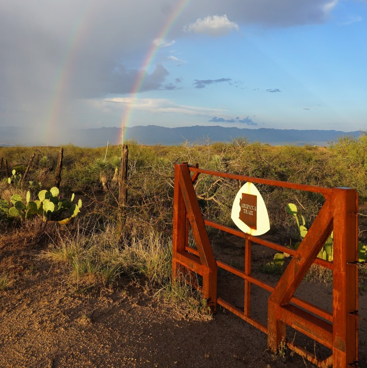 Arizona Trail Double Rainbow